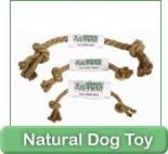 all natural dog toy